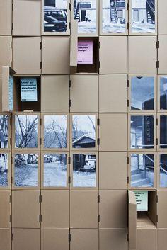 'Raumwandler' exhibition designbyHenning Humml