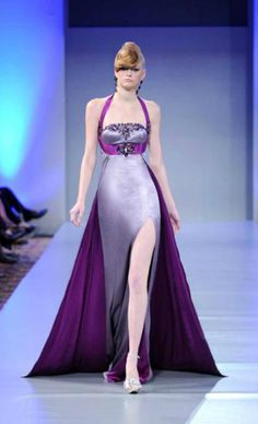 2011-2012 New York fashion show by #Walid_Atallah   http://www.walid-atallah.com