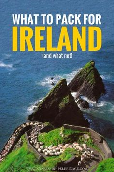 The ultimate Ireland packing list. What to pack for Ireland? THis post will answer all your questions concering the best rain coat for Ireland and the best shoes to bring to Ireland. Scotland Travel, Ireland Travel, Galway Ireland, Scotland Trip, Cork Ireland, Traveling To Ireland, Ireland Facts, Europe Travel Tips, Travel Destinations