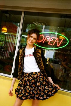 Let Chloe Hill's style help you get dressed this week. You're going to want vintage tees and cat eye sunglasses asap.