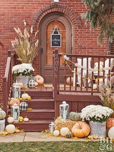 Cute Halloween Front Entry