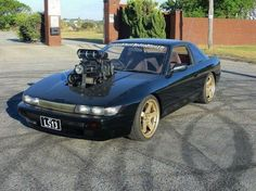 #Nissan #Silvia_S13 #180sx #200sx #LS_Swapped #Modified #JDM #Stance