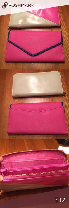 Wallets, wallets Two wallets for those who love pink. Both have multiple compartments and are in perfect condition. You can't beat this price😀 Bags Wallets