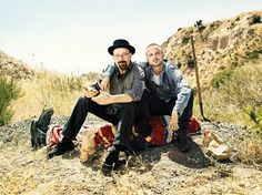 "Walter & Jesse "" Chemical Brothers """