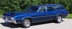 1970 Oldsmobile Vista Cruiser Station Wagon
