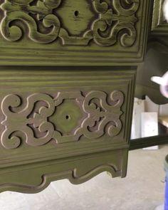 powderglaze furniture furnituremakeover anniesloan is part of Furniture painting techniques -