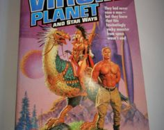1959 Virgin Planet and Star Ways $8.00 | Virgin Planet and Star Ways by Poul Anderson; copyright 1959 Baen Publishing Enterprises. This book has 376 pages and has double story in it. It is in very good vintage condition.