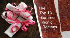 10 Summer Picnic Recipes- One foodie mom shares clever snacking tips for summer!