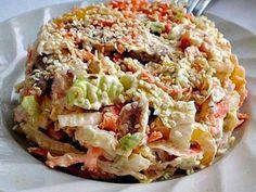 Рецепт №1: Куриный салат с капустой