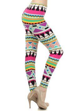 Tribal Printed Women'S Fashion Leggings Tights Pants |#leggings # tights www.loveitsomuch.com