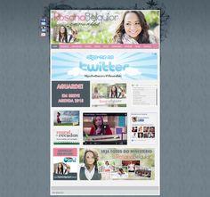 Desenvolvimento e Manutenção de site em PHP, HTML e CSS. Link • www.rosanabelquior.com.br