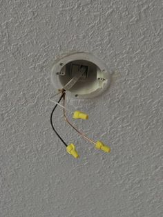 How to move a ceiling light to center it ceiling lights ceilings how to install a new light fixture aloadofball Choice Image