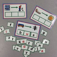 Making Words Mats: Change a letter and make a new word. $4.50 on Teachers Pay Teachers at our 2 Super Teachers Store...please follow us on TPT!