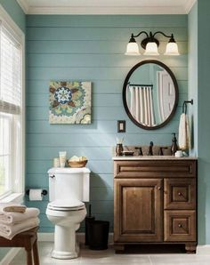 Farmhouse Small Bathroom Remodel and Decor Ideas (16)  #bathroomremodeling