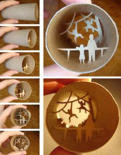 Wow! Makes my craft recycling planned projects seem lame in comparison!