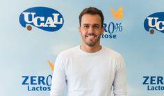 Ucal apresenta leite com chocolate Zero0% lactose com Pedro Teixeira