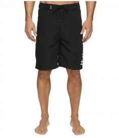 Hurley - One Only 2.0 Boardshorts 22 (Black) Men's Swimwear