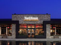 Yard House.  The closest one to me is in Roseville, CA, two hours away, but it's absolutely worth the trip.  I make that trip for the beer and crab cakes alone!  The fact that it's across the street from one of my favorite malls in northern California doesn't hurt either. ;)