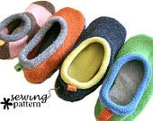 Upcycled Kids Slipper Pattern (sizes Newborn to Child 13)