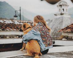OOAK Banjara Levi's Denim Jacket and Grunni, Jess´s constant companion.