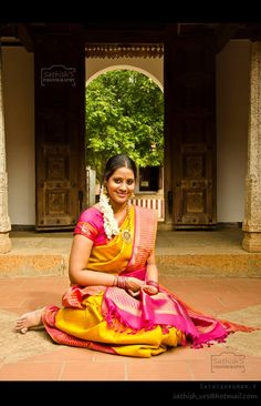 Traditional Tamil Girl