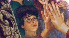 Harry Potter and the Philosopher's Stone-Chapter The Mirror of Harry Potter Mirror, Harry Potter Artwork, Harry Potter Drawings, Harry Potter Wallpaper, Harry Potter Fan Art, Harry Potter Universal, Harry Potter Characters, Harry Potter World, Harry Potter Memes
