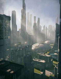 Modular Future 3D City: Utopia Cityscape Blocks