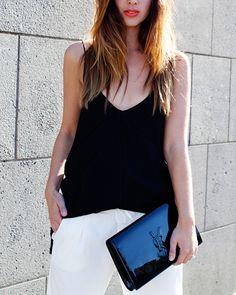 YSL Balenciaga Street Style on Friend in Fashion