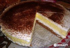 Vaníliás-túrós krémes sütés nélkül