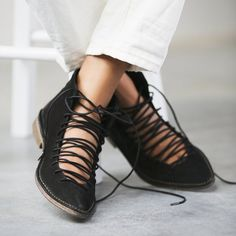 Fancy - Truxton Lace Up Bootie by Free People