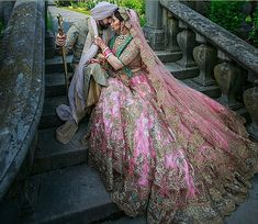 Best Designer Stores In Defence Colony For Wedding Shopping With Prices Pink Lehenga, Bridal Lehenga, Indian Dresses, Indian Outfits, Rimple And Harpreet Narula, Pink Silk, Summer Wedding, Anarkali, Ball Gowns