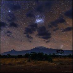 """""""Galactic Clouds"""" by Babak A. Tafreshi (TWAN)"""