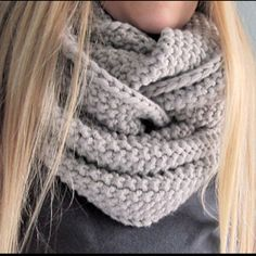 GAP-tastic cowl. Love it! -  made it out of Marble Chunky. Big and beautiful. -cc