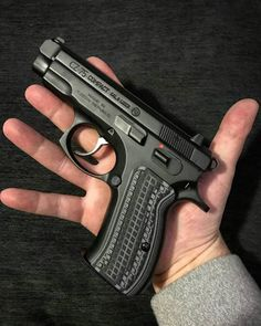 Česká Zbrojovka CZ 75 Compact 9 mm Have sore fingers from reloading your magazines? Save those thumbs & bucks w/ free shipping, Speed up &simplify the pistol loading process with the RAE Industries Magazine Loader, magloader, Speedloader http://www.amazon.com/shops/raeind No more leaving the last round out coz it is too hard to get in & u will load them faster and easier.