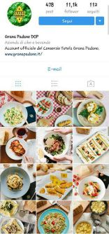 Instagram marketing Grana Padano    https://giodit.com/2017/04/24/come-utilizzare-instagram-in-una-strategia-di-web-marketing/