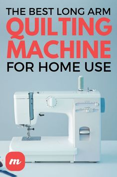 My grandmother used to quilt by hand, and I always admired the patterns she created but never had the coordination or patience for DIY quilting. However, I did set up a long arm quilting machine and to learn how to use it! It's one of the best products for beginners who want to learn how to quilt, but it's important to assess the various machines available. Here are some tips for choosing your long arm quilting machine. #SewingMachines #Sewing #Home #Crafts Quilting Templates, Diy Quilting, Longarm Quilting, Free Motion Quilting, Quilting Tutorials, Hand Quilting, Quilting Projects, Quilt Patterns, Sewing Projects