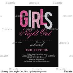 Glittery Girls Night Out / Bachelorette Party
