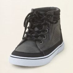 Childrens place online only varsity sneaker 17.21 but in brown TOO cute