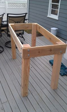 DIY Raised Herb Planter | Your Projects@OBN
