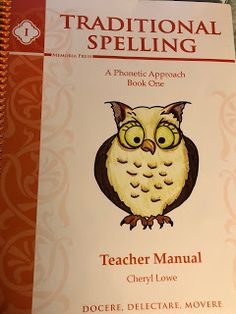 Krazy Kuehner Days: Memoria Press - Traditional Spelling I Review