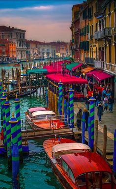 The Grand Canal in Venice • photo: Neil Cherry on 500px