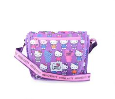Hello Kitty Shoulder Bag: Lavender Tone