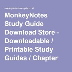 ib guides international baccalaureate study guides notes and monkeynotes study guide store able printable study guides chapter summary booknotes