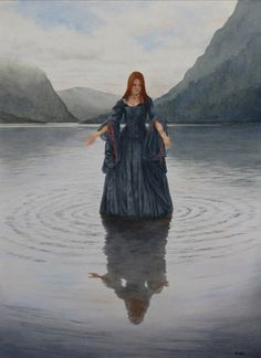 Lady of the Lake, I just love this. . . and she lives in my pond!
