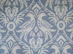 Blue curtain fabric and blue upholstery fabric available from our online fabric shop or fabric warehouse in Northamptonshire.