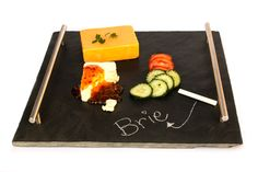 Cheese Slate board – Restful Spaces Slate Board, Good Find, Kitchen Tools, Plastic Cutting Board, Dinnerware, Pots, Appliances, Cheese, Spaces
