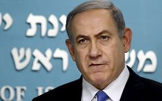 Israeli Prime Minister Benjamin Netanyahu delivers a statement in his office in Jerusalem after world powers reached the historic nuclear deal with Iran