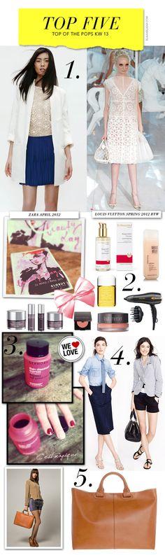 Top Five 2012 KW 13