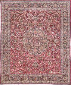 "OLD KERMAN Origin: IRAN Size: 16' 5"" x 20' 6"" Rug ID # 236"