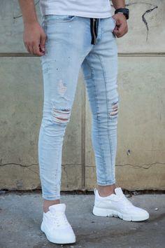 Blugi Slim COD 3382L Cod, Curly Hair Styles, Skinny Jeans, Hairstyles, Slim, Pants, Fashion, Haircuts, Trouser Pants